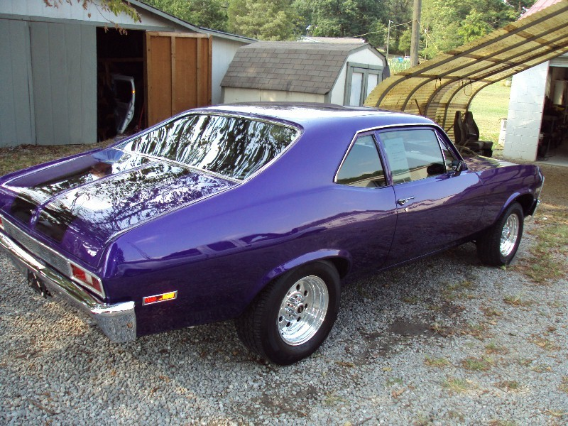 Anyone In East Tennessee Recognize This Purple Car Chevy Nova Forum